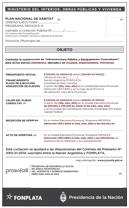 Miniatura del Documento Aviso de Licitación PROSOFA III