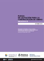 Miniatura del Documento Pliego de Licitación para la Contratación de Obras - PROSOFA III